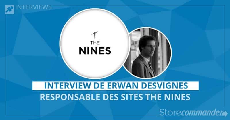 Sites marchands pour hommes chics - The Nines